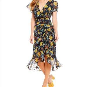 Lucy Paris floral print midi dress 👗
